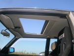 C1 sunroof open