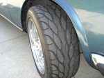 blue CS tire