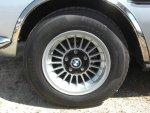silver CSL wheel