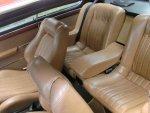 2800CS fr & rr seats