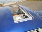 blue cs sunroof