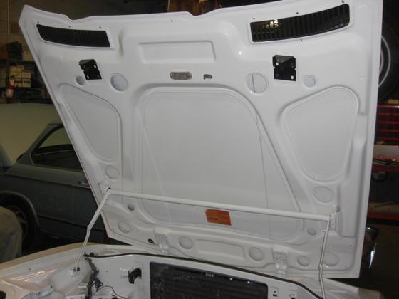CSi hood underside