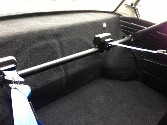 Taiga Alpina '02 back seat