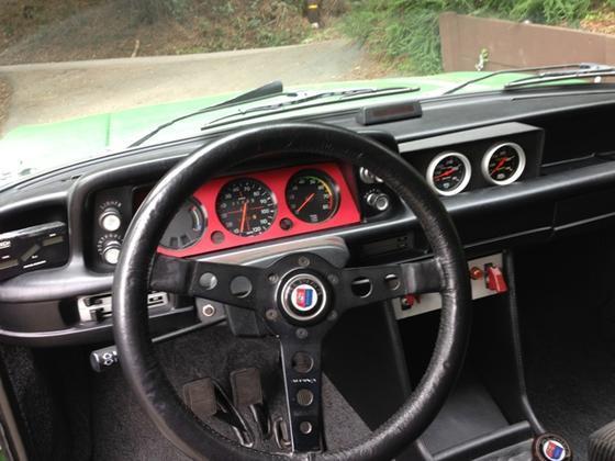 Taiga Alpina '02 steering wheel