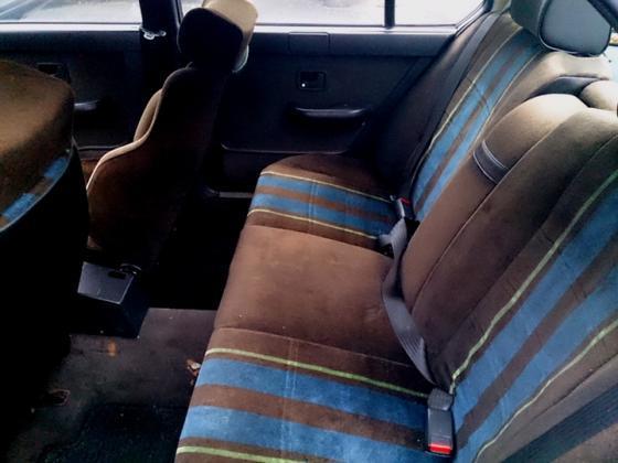 Black B9 back seat L