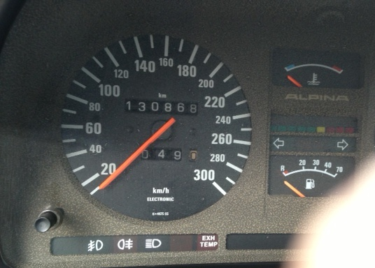Hs B7 Turbo3 odo