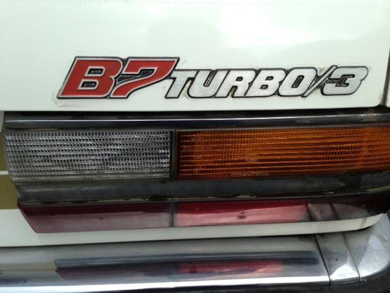 Hs B7 Turbo3 trunk badge
