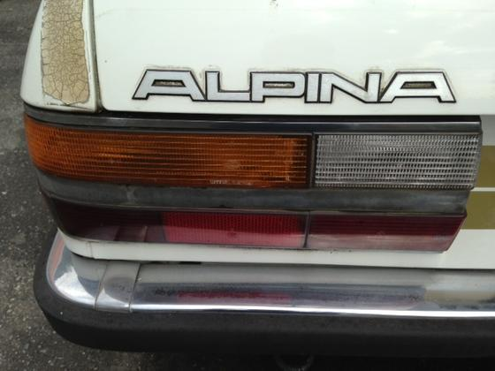 Hs B7 Turbo3 trunk badge L