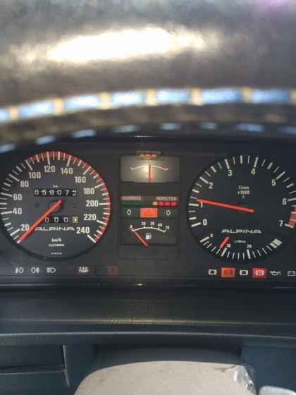 E28 B9 speedo