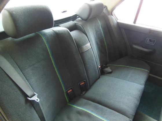 B7 back seat