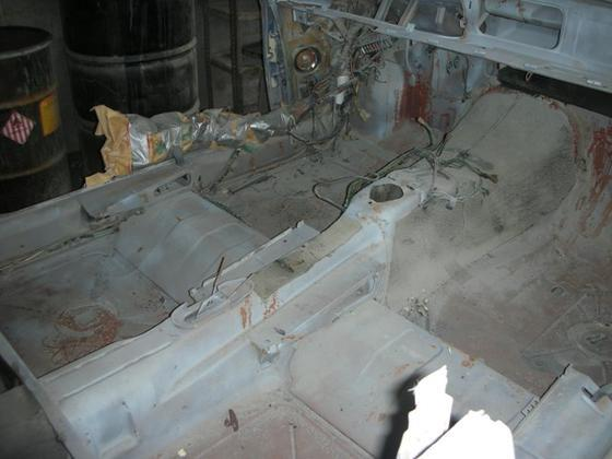 black CS interior floors