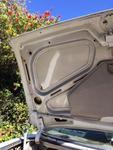 white CS trunk lid L