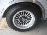 Polaris CSL wheel & tire