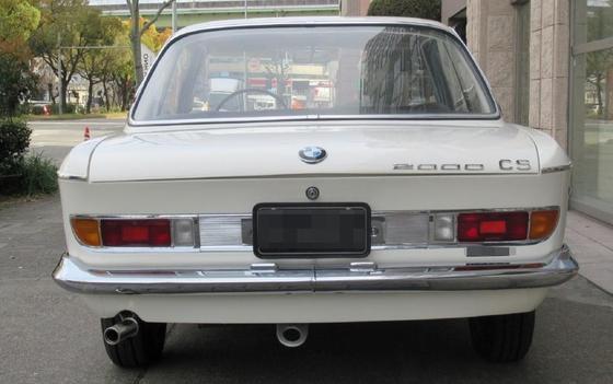 white 2000CS tail